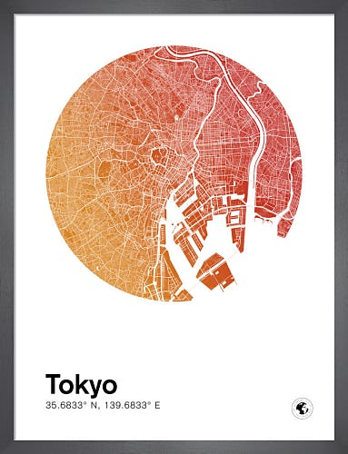 Tokyo by MMC Maps