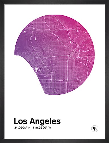 Los Angeles by MMC Maps