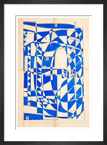 Lost Gardens No.13 (sapphire) by Hormazd Narielwalla