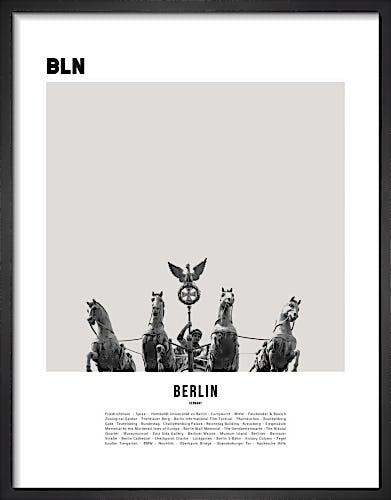 Berlin I by WK Fox Art
