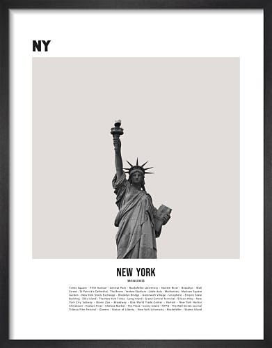 New York I by WK Fox Art