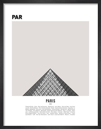 Paris I by WK Fox Art
