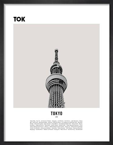Tokyo I by WK Fox Art