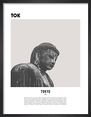Tokyo II by WK Fox Art