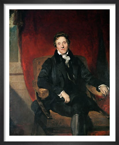 Sir John Soane Aged 76 by Sir Thomas Lawrence