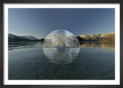 Ice Circle by Martin Hill