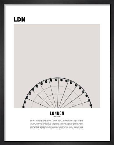 London I by WK Fox Art