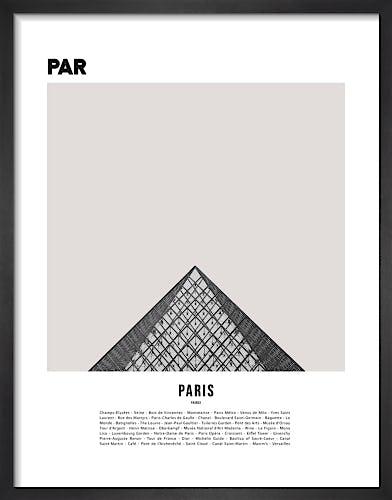 Paris I by WK Fox Art