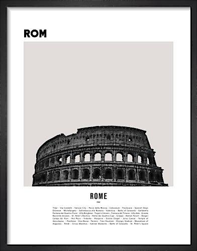 Rome by WK Fox Art
