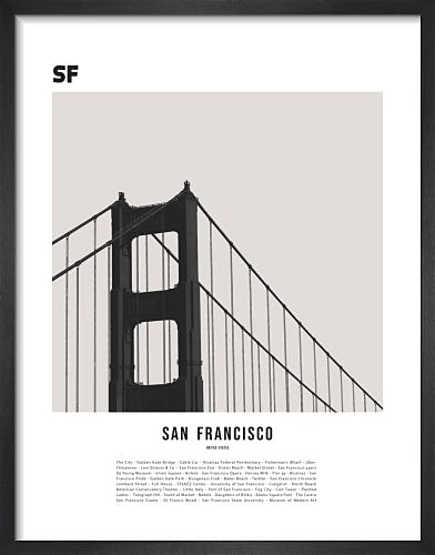 San Francisco by WK Fox Art