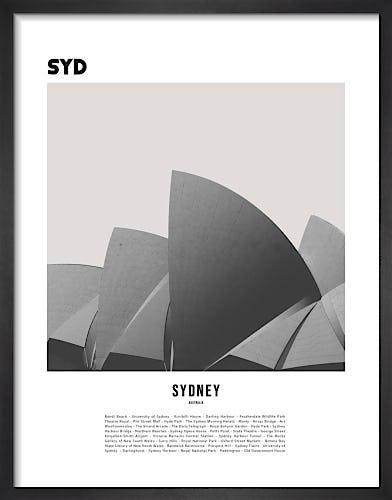 Sydney by WK Fox Art
