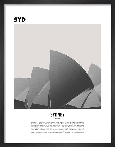 Sydney by WK Fox Art