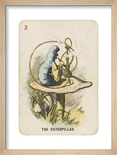 The Caterpillar by Sir John Tenniel