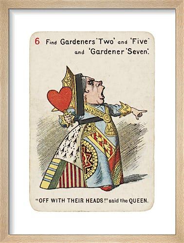 Off with their Heads by Sir John Tenniel