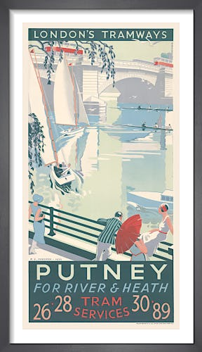 Putney For River & Heath by R.F. Fordred