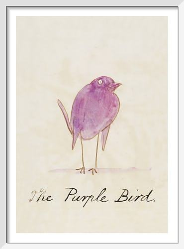 The Purple Bird by Edward Lear