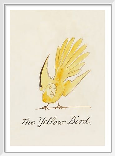 The Yellow Bird by Edward Lear
