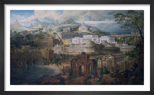Architectural Visions of Early Fancy in the Gay Morning of Youth and Dreams in the Evening of Life by Joseph M Gandy