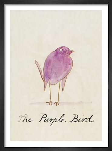 The Purple Bird by Edward Lear