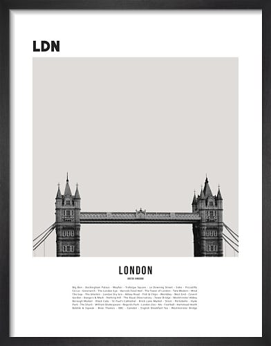 London II by WK Fox Art