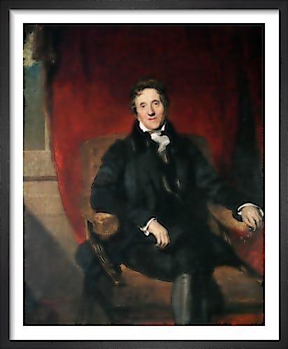 Sir John Soane Aged 76 by Sir Thomas Lawrence