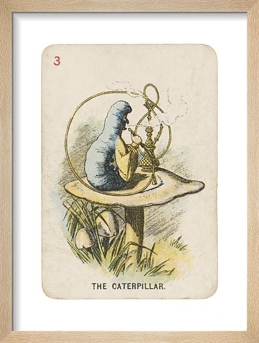 The Caterpillar by Sir John Tenniel