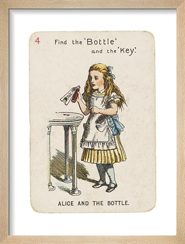 Alice and the Bottle by Sir John Tenniel