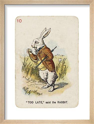 Too Late by Sir John Tenniel