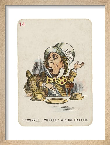 Twinkle Twinkle by Sir John Tenniel
