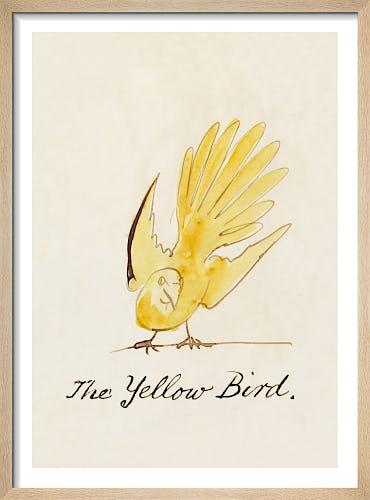 The Yellow Bird by Edward Lear