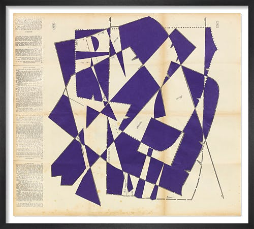 Dancing Blocks No.7 (Indigo) by Hormazd Narielwalla