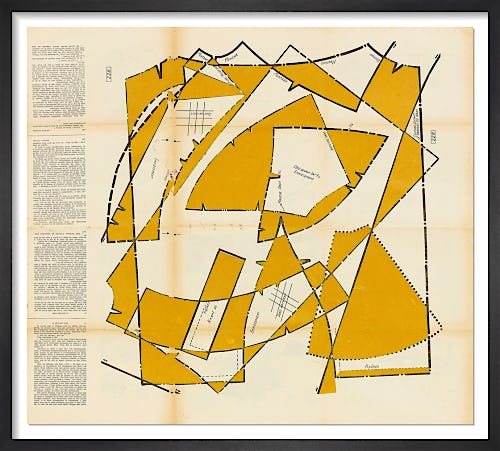 Dancing Blocks No.1 (Mustard) by Hormazd Narielwalla