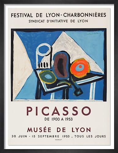 Musée de Lyon, 1953 by Pablo Picasso