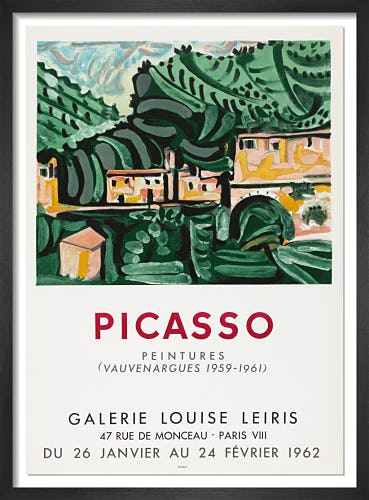 Galerie Louise Leiris, 1962 by Pablo Picasso