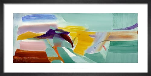 Yellow Hill, 1968 by Ivon Hitchens