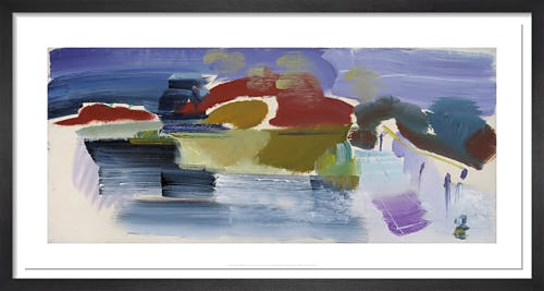 Arlesford Footbridge, 1965 by Ivon Hitchens