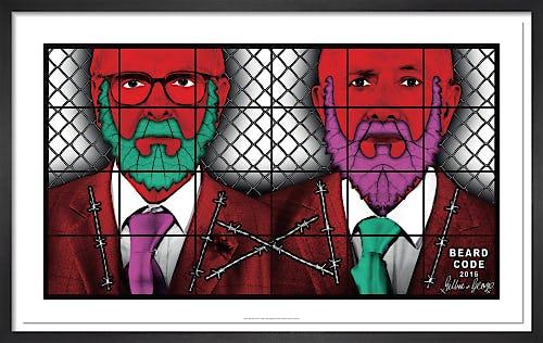 Beard Code, 2016 by Gilbert & George