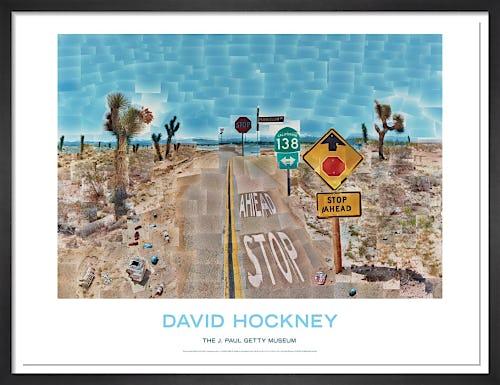 Pearlblossom Highway by David Hockney