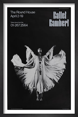 Ballet Rambert by Rare Theatre Posters