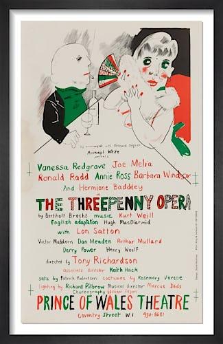 The Threepenny Opera by David Hockney