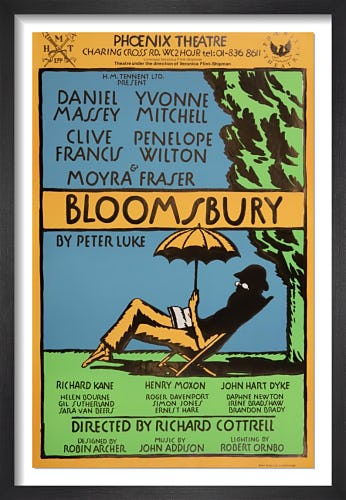Bloomsbury by Rare Theatre Posters