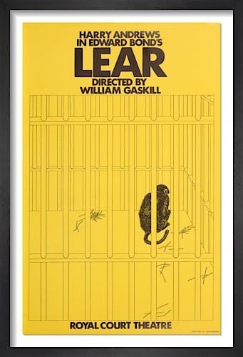 Lear by Rare Theatre Posters