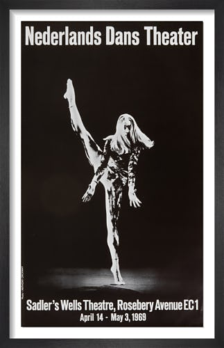 Nederlands Dans Theater by Rare Theatre Posters