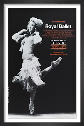 Royal Ballet by Rare Theatre Posters