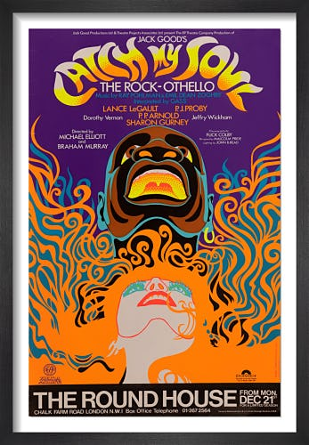 Catch My Soul by Rare Theatre Posters