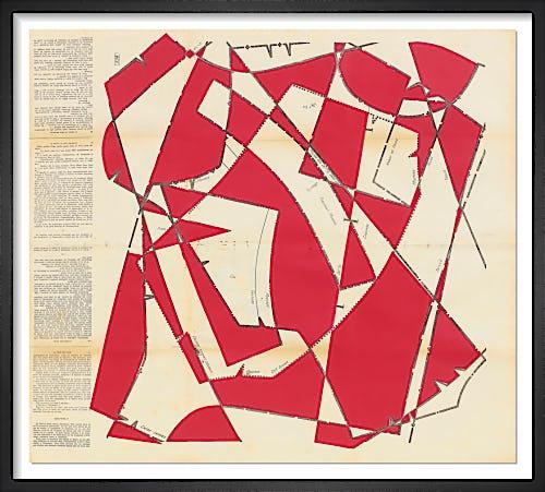 Dancing Blocks No.8 (Crimson) by Hormazd Narielwalla