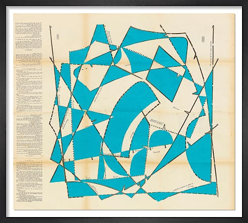 Dancing Blocks No.9 (Aqua) by Hormazd Narielwalla