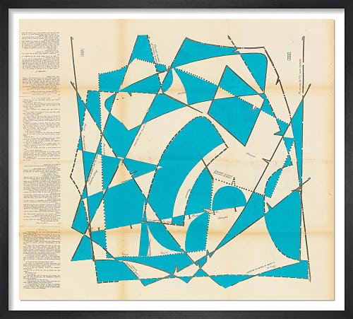 Dancing Blocks No.9 (Aqua) by Hormazd Narielwalla