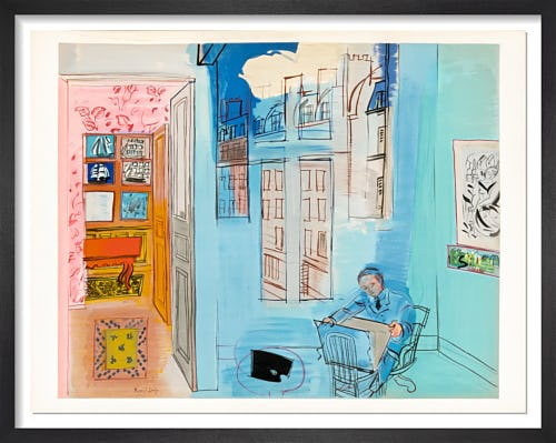 L'Atelier (after Raoul Dufy), 1969 by Raoul Dufy