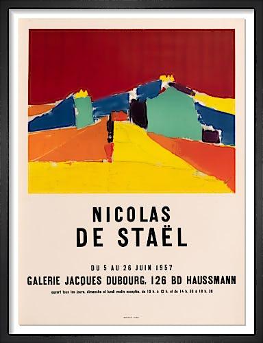 Galerie Jacques Dubourg by Nicolas de Staël